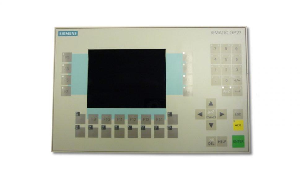Siemens simatic op 27 manual